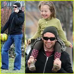 Hugh Jackman is a Family Man