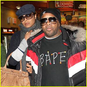 Janet Jackson Jets With Jermaine