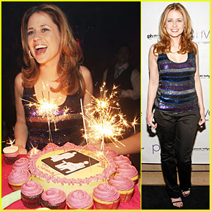 Jenna Fischer is Prive Pretty