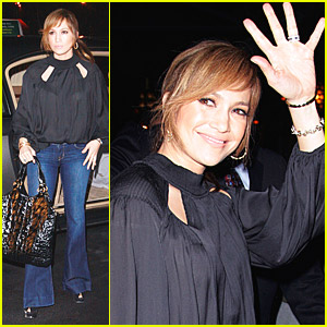 Jennifer Lopez Dines Downtown