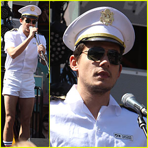 John Mayer Has Legs For Days
