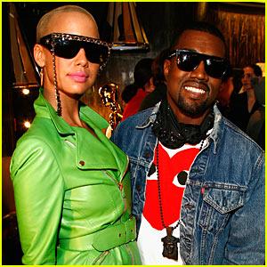 Kanye West & Amber Rose: Fashion Week Fierce