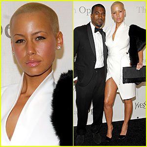 Kanye West & Amber Rose Make It A Metropolitan Opera Night