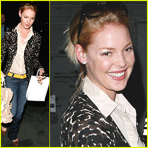 Katherine Heigl Gets Salon Spectacular