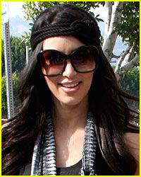 Kim Kardashian Hearts Headbands