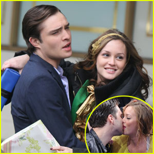 Leighton Meester is Caught Kissing