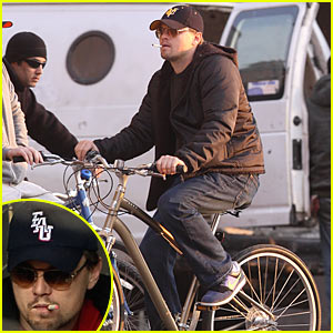 Leonardo DiCaprio is a Smoking Cyclist