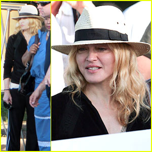 Madonna Marches to Malawi