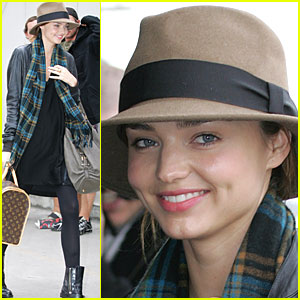 Miranda Kerr Goes Back Down Under