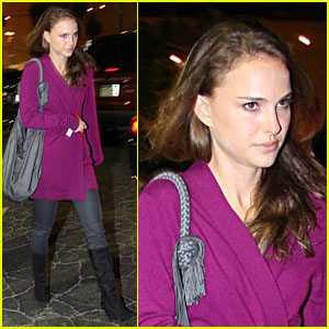 Natalie Portman Bounces From Bardot