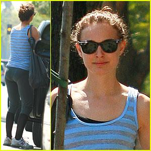Natalie Portman is Sweatpants Sweet