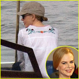 Nicole Kidman is In India