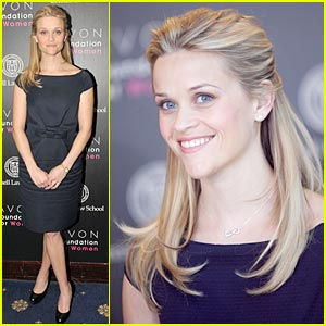 Reese Witherspoon Unveils Empowerment Necklace