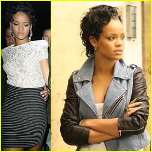 Rihanna Covers Up Gun Tattoos