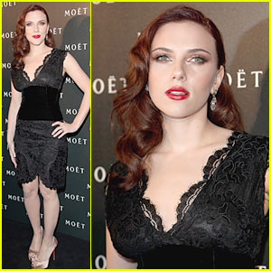 Scarlett Johansson Flies Sky High