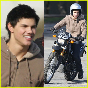 Taylor Lautner is a Dirt Bike Devil