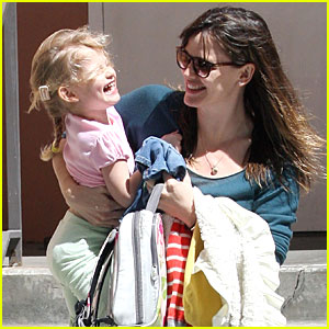Violet Affleck: Giggling's Great!