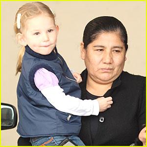 Violet Affleck Has a Notable Nanny