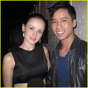 Alexis Bledel: Slacking on the Birthday Present Front!