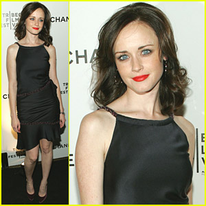 Alexis Bledel Flocks To Film Festivals