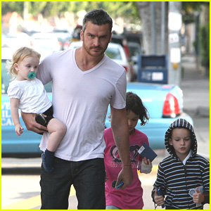 Balthazar Getty And His Kabbalah Kids
