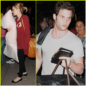 Blake Lively & Penn Badgley: Thailand Take-off!
