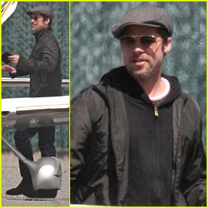 Brad Pitt is a New NY Pilot