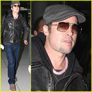 Brad Pitt is Pink Pretty