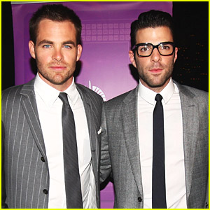 Chris Pine & Zachary Quinto Navigate New Zealand