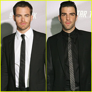 Chris Pine & Zachary Quinto Star In Star Trek