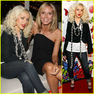 Christina Aguilera's Rumorous Night With Heidi Klum