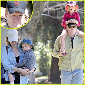 Conan O'Brien Has Some Family Fun