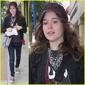 Ellen Page's New Perception: Inception!