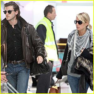 Gaspard Ulliel & Jordane Crantelle Couple Up