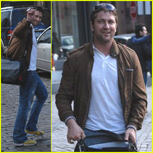 Gerard Butler Thinks NYC Is Neat