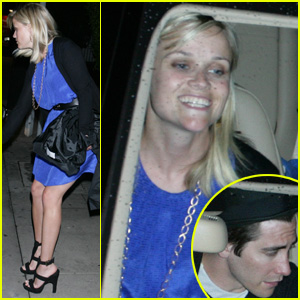 Jake Gyllenhaal & Reese Witherspoon Double Date
