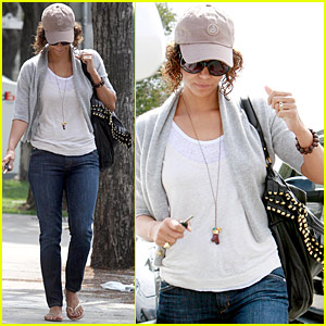 Halle Berry is a Cap Crusader