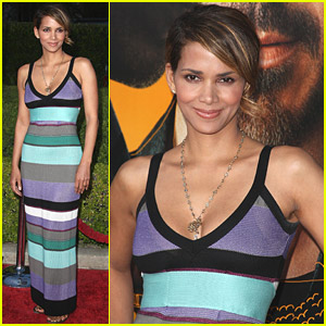 Halle Berry Supports The Soloist