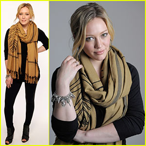 Hilary Duff Stays Cool At Tribeca
