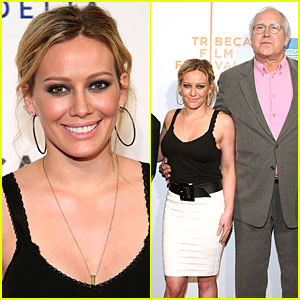 Hilary Duff Has Time for Tribeca