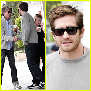 Jake Gyllenhaal & Stephen Gaghan: Caffe Luxxe Lunch