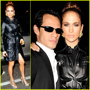 Jennifer Lopez & Marc Anthony Talk TopShop