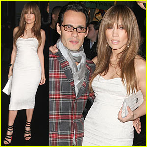 Jennifer Lopez & Marc Anthony: TopShop Teriffic