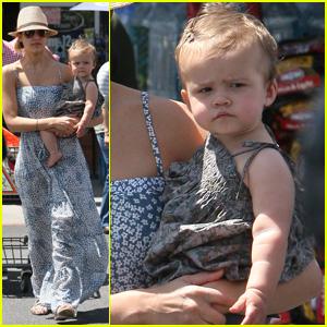 Jessica Alba's Bristol Baby