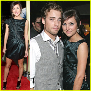 Jessica Stroup Premieres The Informer