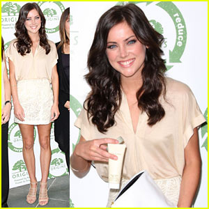 Jessica Stroup Returns To Origins
