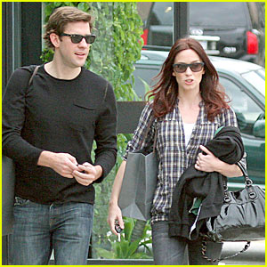 Emily Blunt & John Krasinski Couple Up