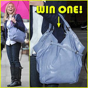 Win Kristen Bell's Kooba Bag!