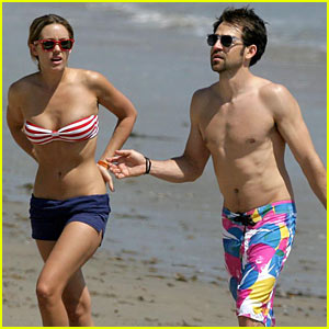 Lauren Conrad & Kyle Howard: Beach Bums