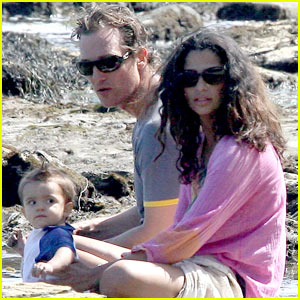 Levi McConaughey is a Malibu Beach Baby